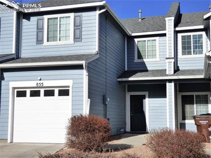 855 Red Thistle View Colorado Springs, CO MLS# 5192190