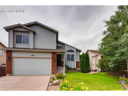 4842 Chariot Drive Colorado Springs, CO MLS# 8032621