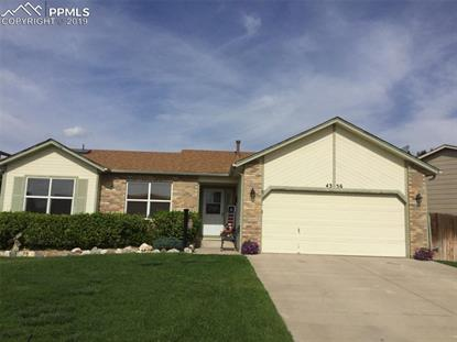 4356 Villager Drive Colorado Springs, CO MLS# 8056812