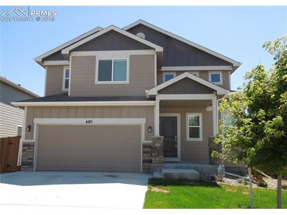 6185 Cast Iron Drive Colorado Springs, CO MLS# 9573454