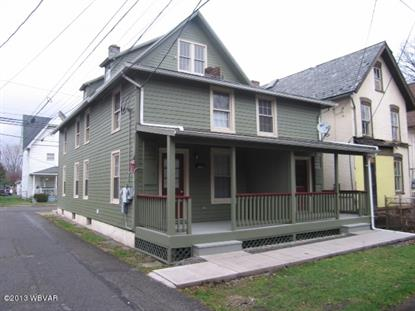 513-515 W EDWIN STREET Williamsport, PA MLS# WB-83879