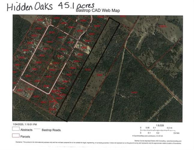 Hidden Oaks Dr  45.1 acres, Elgin, TX 78621 - Image 1