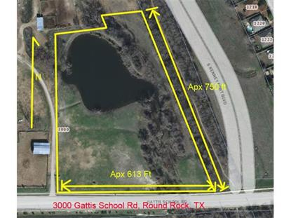 3000  Gattis School Rd Round Rock, TX MLS# 4062437