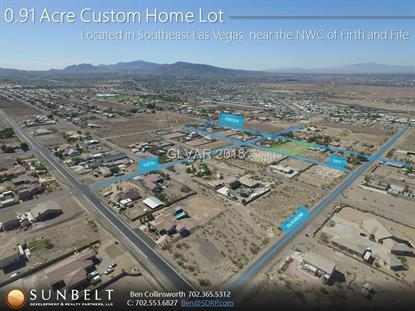 0 Firth and Fife St  Henderson, NV MLS# 1945369