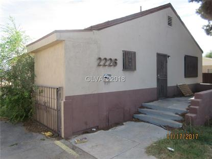 2226 ELLIS Street, North Las Vegas, NV