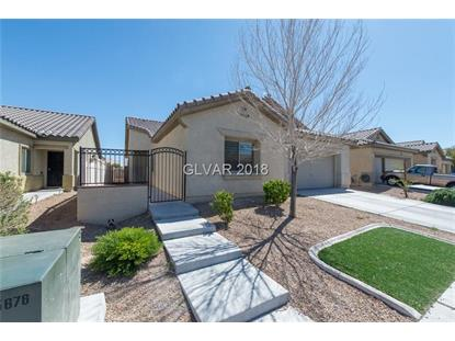 3928 CELEBRATION COVE Street North Las Vegas, NV MLS# 1979756