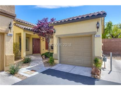 7804 BLESBOK Court Las Vegas, NV MLS# 1983344