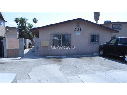 2128 ELLIS Street North Las Vegas, NV MLS# 2018109