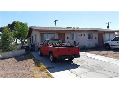 3717 GLENDALE Avenue North Las Vegas, NV MLS# 2062329