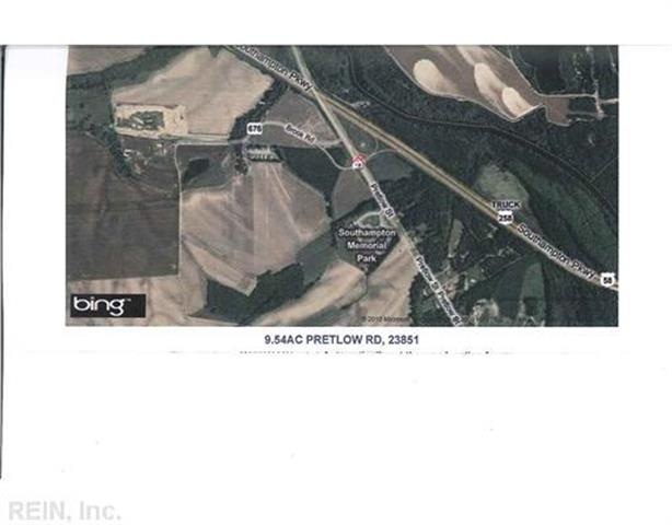 9.54AC PRETLOW, Franklin, VA 23851