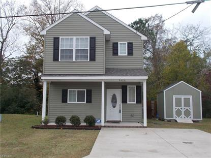 2420 Randolph  Suffolk, VA MLS# 10229720