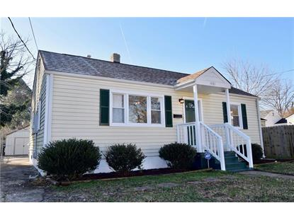 1033 Albert  Norfolk, VA MLS# 10235060