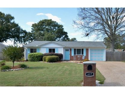 417 Big Pine  Virginia Beach, VA MLS# 10333886