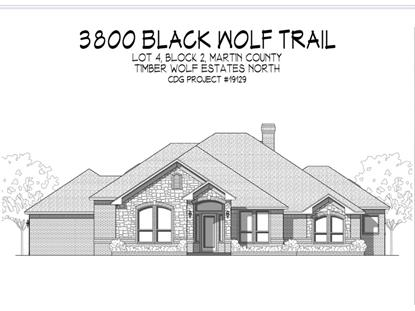 3800 Black Wolf Trail  Midland, TX MLS# 50026461