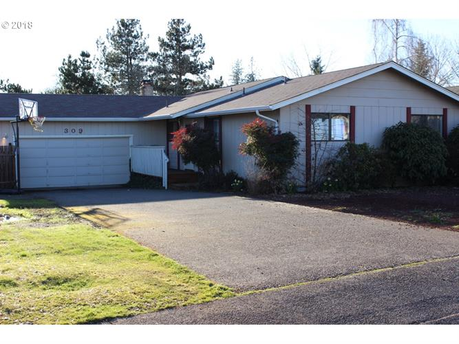 309 MEADOW LN, Creswell, OR 97426