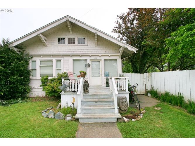 470 W 4TH ST, Coquille, OR 97423
