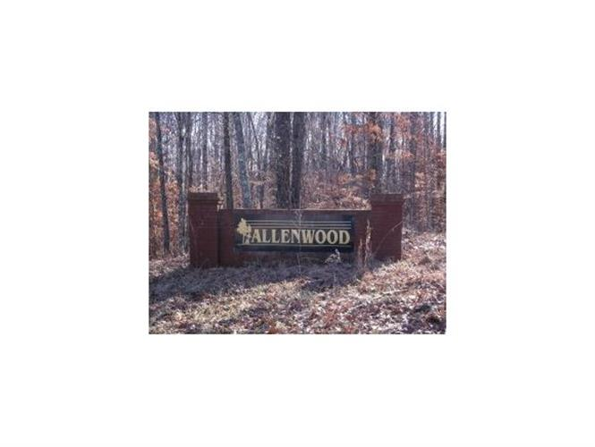 Lot 31 Allenwood Drive, Surgoinsville, TN 37873