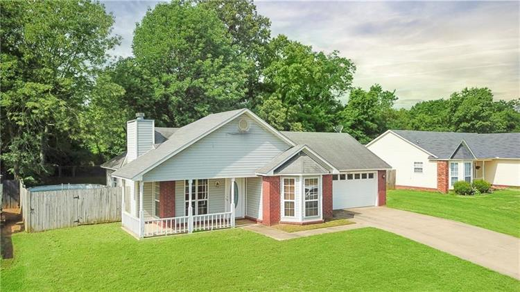 1661 Whippoorwill  DR, Greenwood, AR 72936