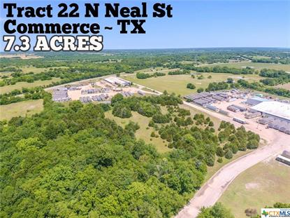 Tract 22 N Neal Street Commerce, TX MLS# 412299
