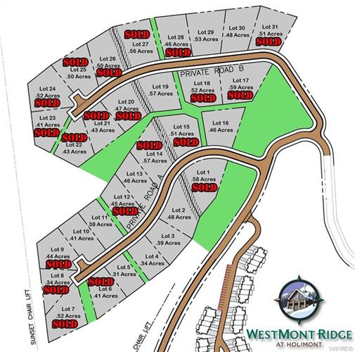 Lot #11 WestMont Ridge, Ellicottville, NY 14731