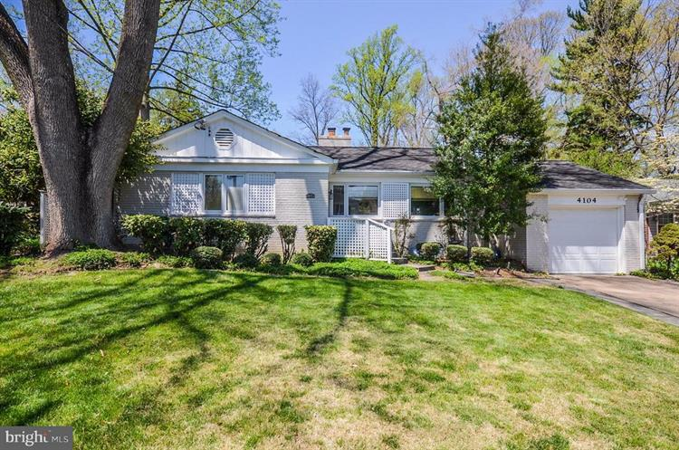 4104 EDGEVALE COURT, Chevy Chase, MD 20815 - Image 1
