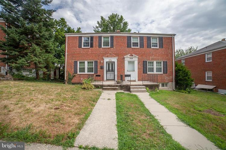 1016 DARTMOUTH ROAD, Baltimore, MD 21212