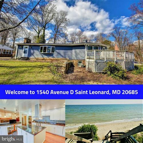 1540 AVENUE D, Saint Leonard, MD 20685