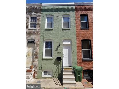 1707 OLIVE STREET Baltimore, MD MLS# 1000425804