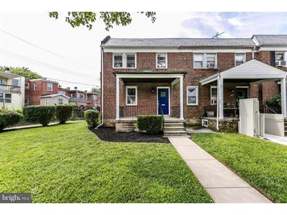 2501 FOREST PARK AVENUE W Baltimore, MD MLS# 1002255502