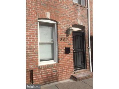 207 REGESTER STREET S Baltimore, MD MLS# 1004147265