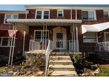 4449 OLD FREDERICK ROAD Baltimore, MD MLS# 1007884834