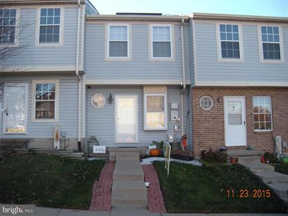 836 OLIVE BRANCH COURT Edgewood, MD MLS# 1008090072