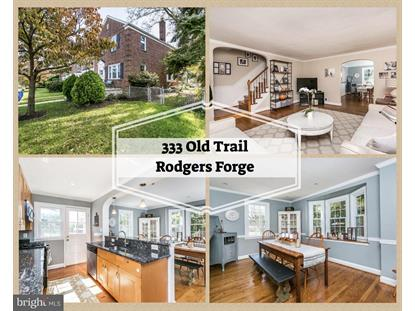 333 OLD TRAIL ROAD Baltimore, MD MLS# 1009911850