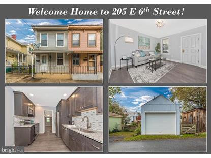 205 E 6TH STREET Frederick, MD MLS# 1009954966
