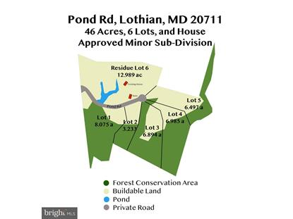 600 POND ROAD Lothian, MD MLS# MDAA439998