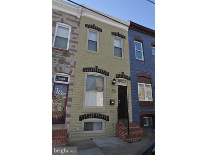 2507 JEFFERSON STREET Baltimore, MD MLS# MDBA306192