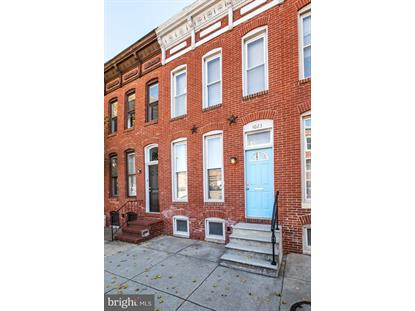 1023 S HANOVER STREET Baltimore, MD MLS# MDBA491554