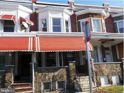 1135 POPLAR GROVE STREET Baltimore, MD MLS# MDBA499318