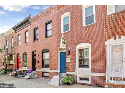 212 S CLINTON STREET Baltimore, MD MLS# MDBA510290
