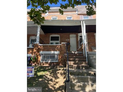 1706 E 30TH STREET Baltimore, MD MLS# MDBA525738