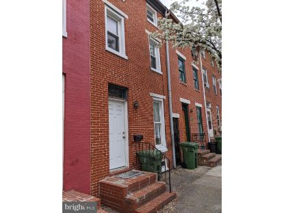 110 S POPPLETON STREET Baltimore, MD MLS# MDBA537200
