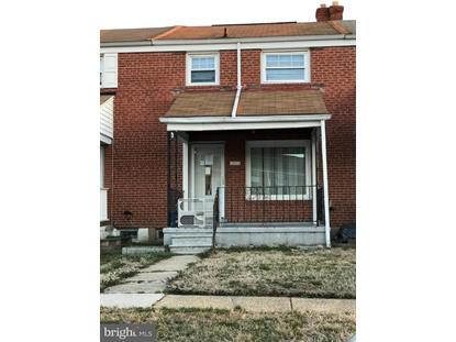 3406 NORTH POINT ROAD Baltimore, MD MLS# MDBC436010