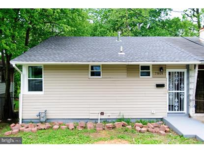 7809 GREENLEAF ROAD Landover, MD MLS# MDPG561838