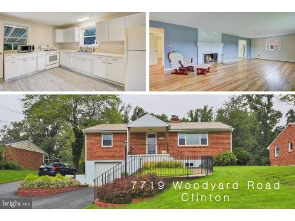 7719 WOODYARD ROAD Clinton, MD MLS# MDPG580722