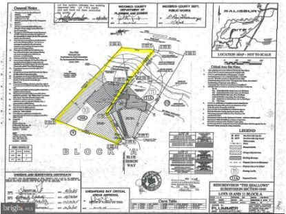 LOT 10A BLUE HERON WAY Eden, MD MLS# MDWC109168