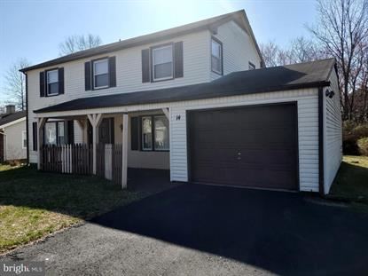 14 SEDGWICK LANE Willingboro, NJ MLS# NJBL369582
