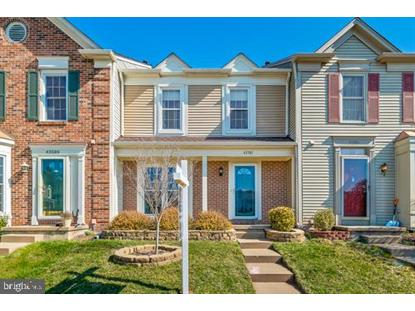 43587 PLANTATION TERRACE Ashburn, VA MLS# VALO356248