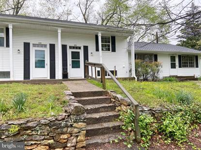 222 MAPLE STREET Middleburg, VA MLS# VALO407880
