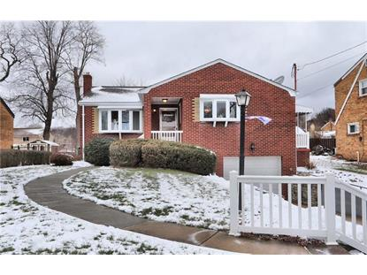 3467 Bench Drive  Pittsburgh, PA MLS# 1377602