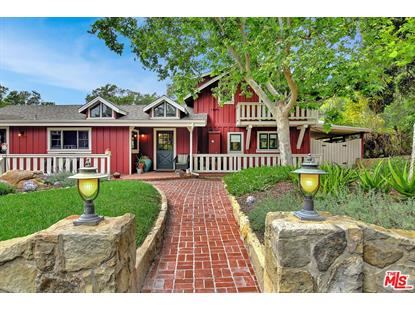 2606 FOOTHILL RD Santa Barbara, CA MLS# 18379726